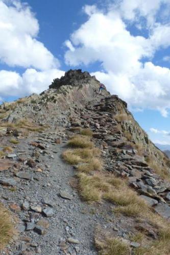 21-montée au pas de l'Escalette 2396m