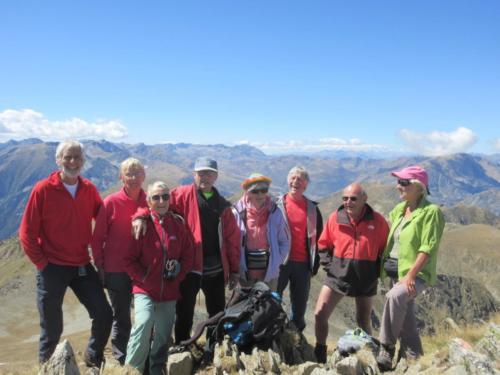 22-au sommet de la Coume d'Or 2826m