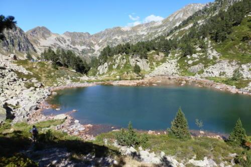 22-l'étang d'Estagnas sur le GR10
