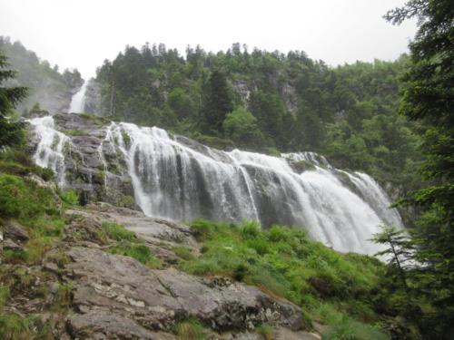 cascade d'Ars - 10 juin
