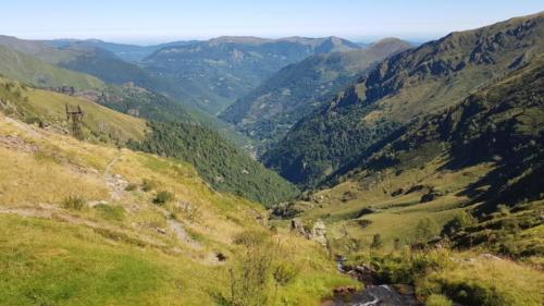 barrage d'Urets, cabane d'Artignan - 5 août