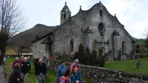 boucle au départ de Luzenac (Moulis) - 1 mars